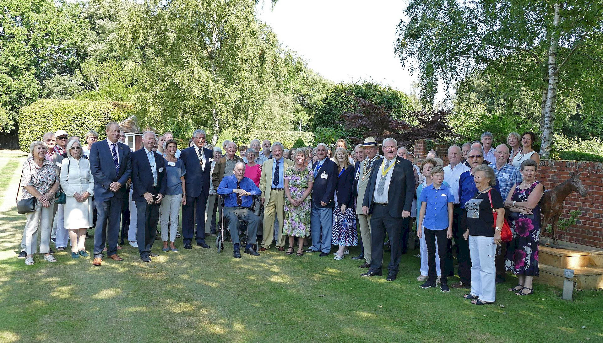 Besuch in Brentwood 2018