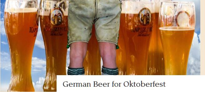 beer for octoberfest
